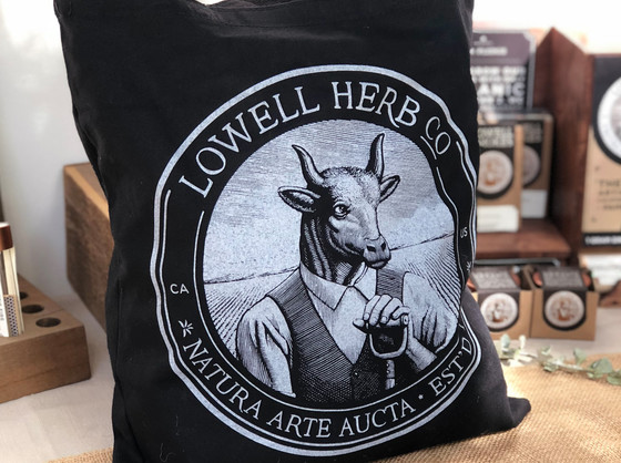 Lowell Canvas Tote product shot