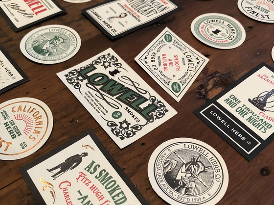 Lowell Edition Stickers product shot