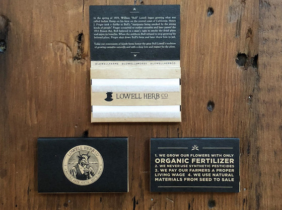 Lowell Rolling Papers product shot