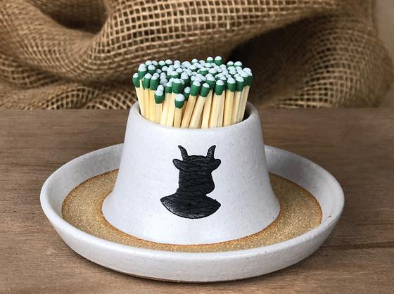 Ceramic Match Holder product shot